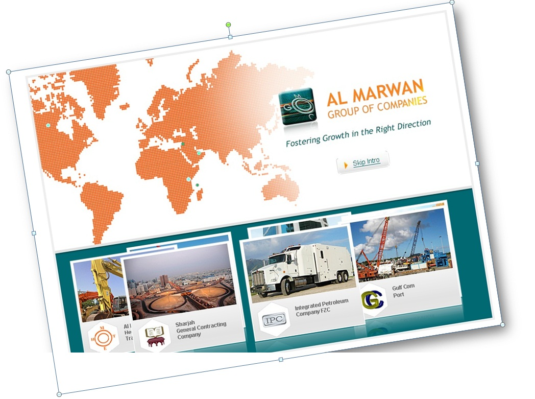 Al Marwan Group Holding launched New Websites