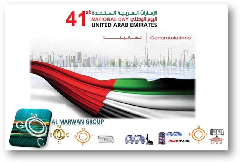 CONGRATULATIONS AND BEST  WISHES TO ALL THE RULERS AND PEOPLE OF UAE ON THE 41ST NATIONAL DAY