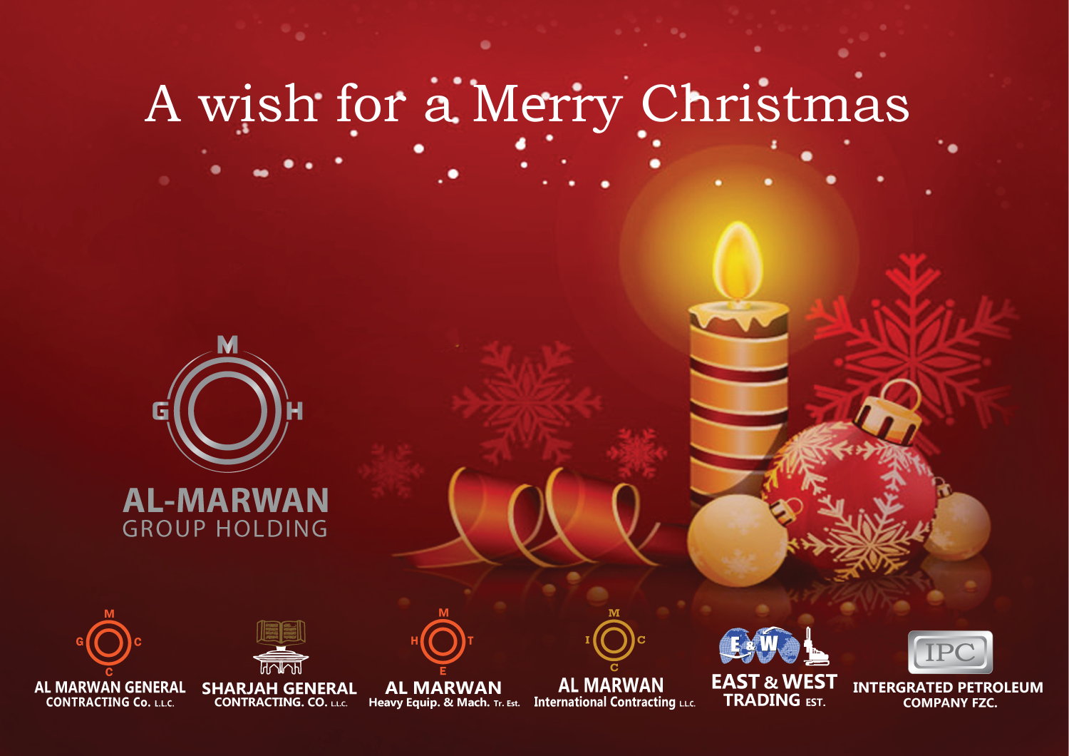 Mghseason greeting merry christmas 2014 al marwan group holding season greeting merry christmas 2014 m4hsunfo